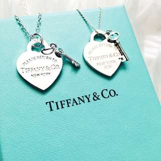 Brand New Tiffany And Co Heart Tag Necklace With Chain Replica