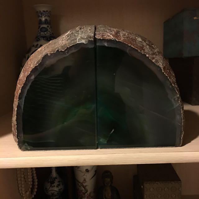 綠瑪瑙擺飾