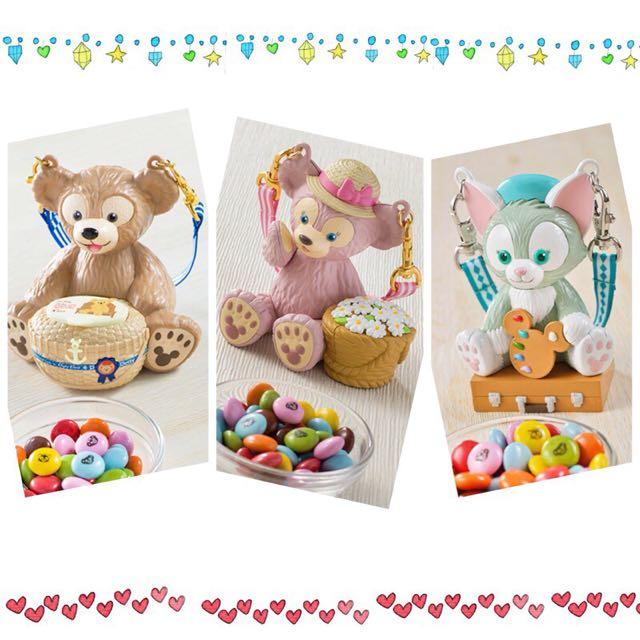 達菲、雪莉梅、貓畫家糖果罐