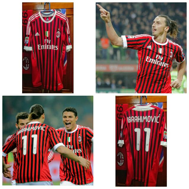 new arrival c3e2c 9f0b8 AC MILAN IBRAHIMOVIC JERSEY
