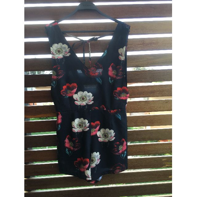 Alice In The Eve Power Floral Jumpsuit