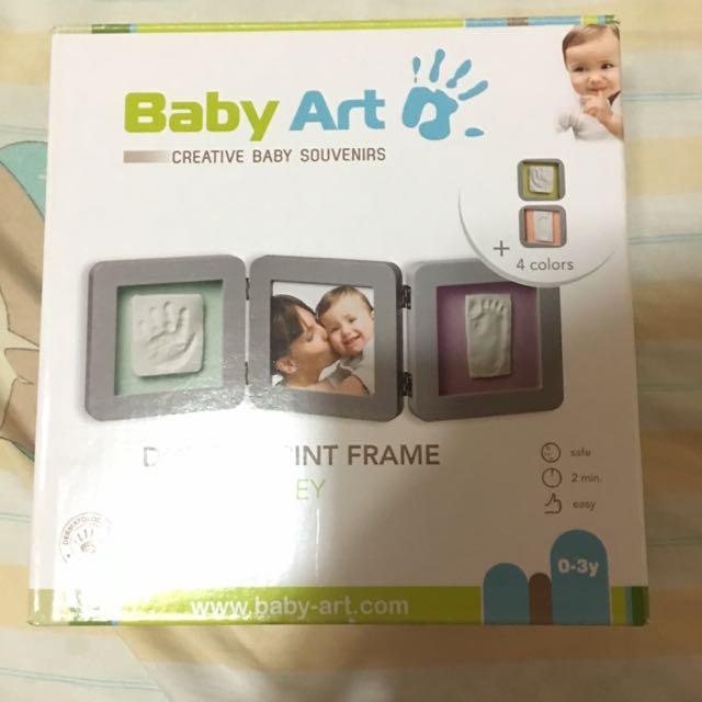 Baby Art 寶寶手腳印紀念相框 滿月禮 出生禮