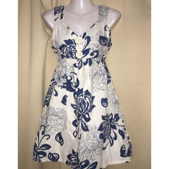 Bangkok Printed Summer Dress With Inner Lining