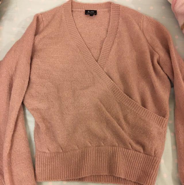 Bardot Wrapped Sweater