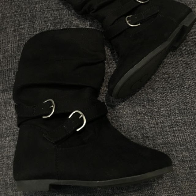 Black Boots for girls