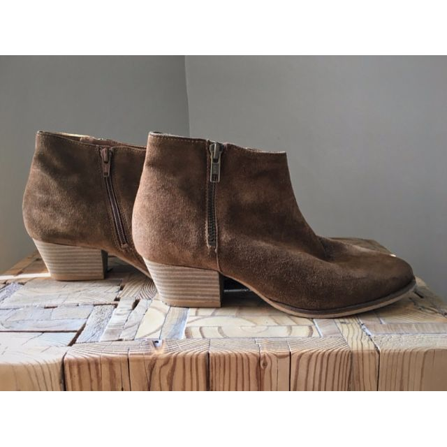 Brown Suede Aldo Ankle Boots