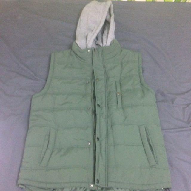 Cotton On Khaki Puffer Vest