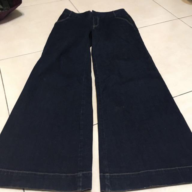 (待匯)DKNY Jeans 牛仔大寬褲