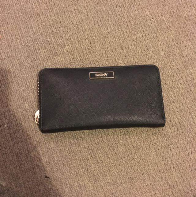 NEGOTIABLE DKNY Zip Up Wallet