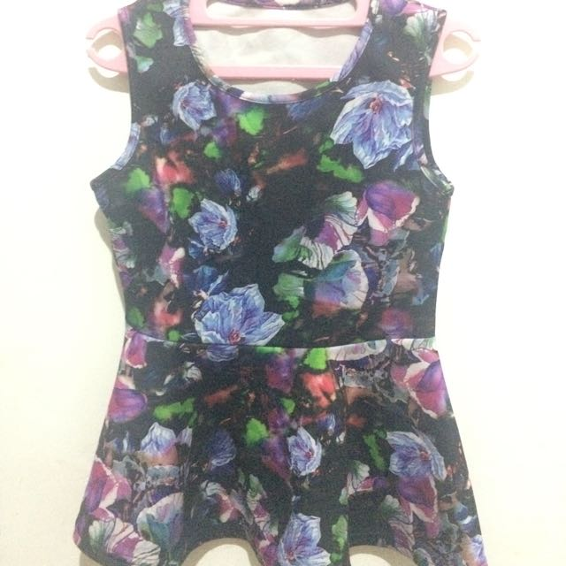 Dress Flower Plum