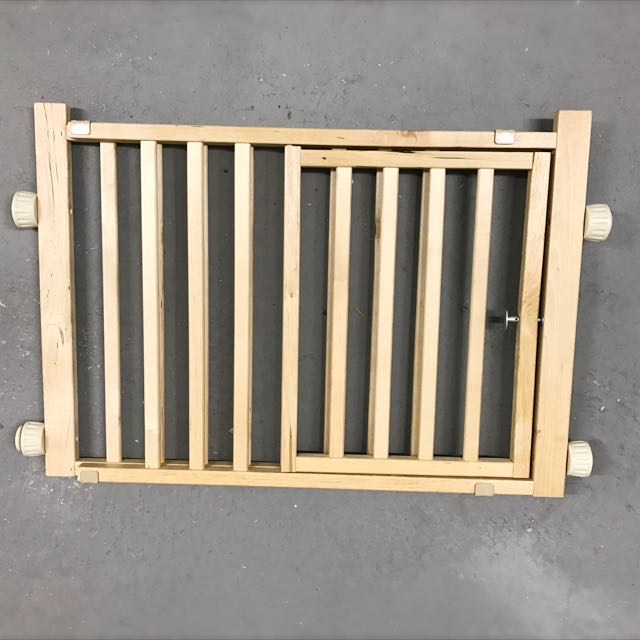 Dog Wooden Gate