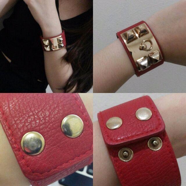 Hermes Red Bracelet KW