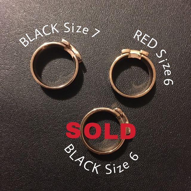 Hermes Rings - CLEARANCE SALE