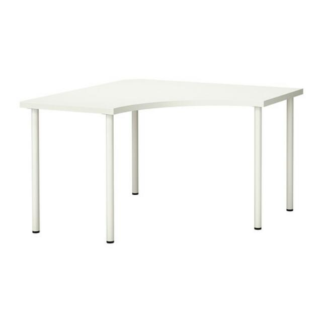 ikea corner table white