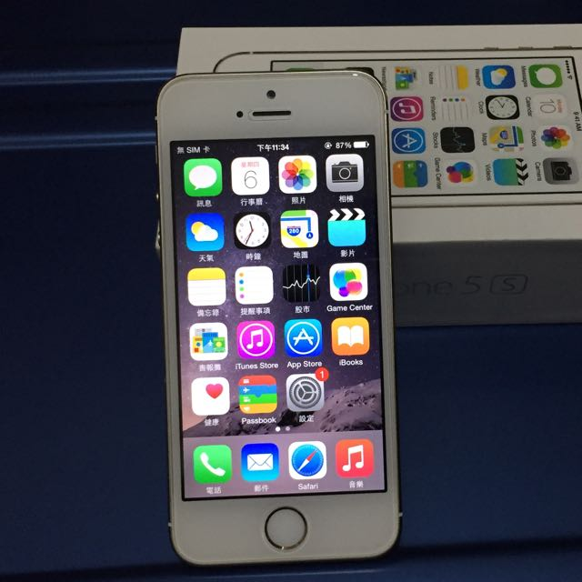 iPhone5S 16G 9.8成新