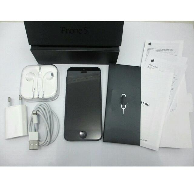 Iphone 5 - 16 GB - black