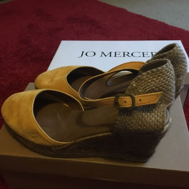 Jo Mercer Wedges (hand made in Spain)
