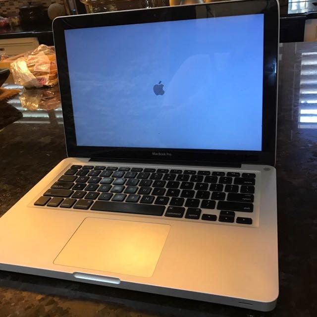 Late 2011 Mac Book Pro