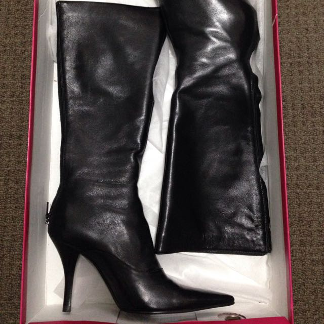 Mollini Knee High Boots New Size 36