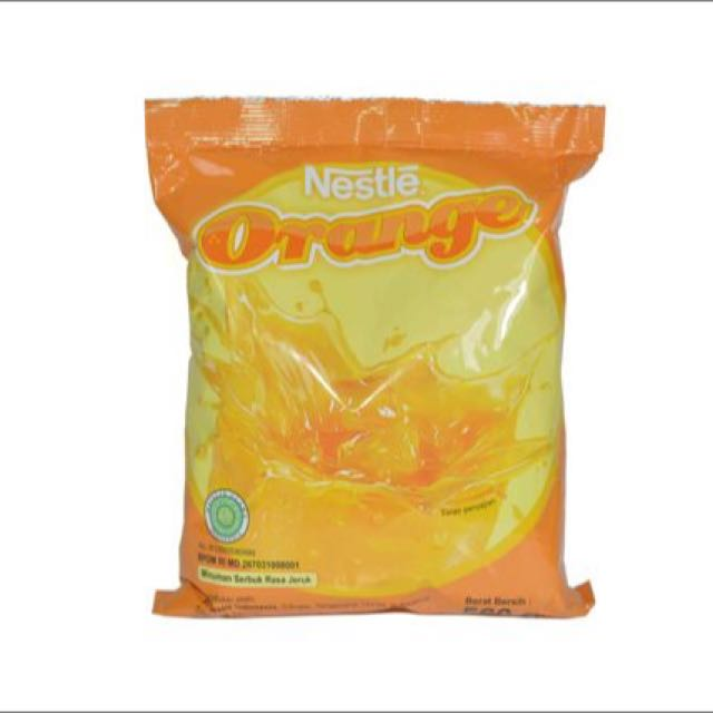 Nestle Professional Orange