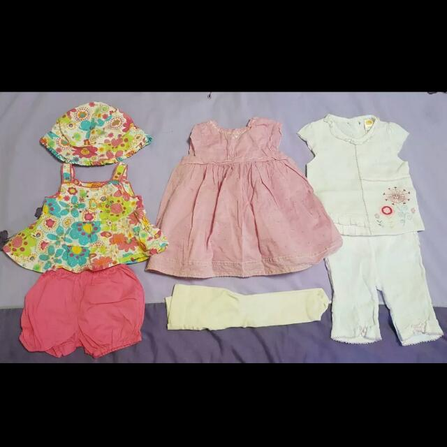 New And Used Girls Baby Clothing, Size 000 To Size 1, $3 Per Outfit