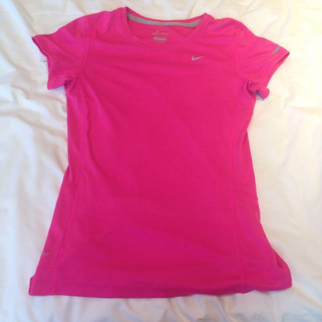 Nike Climalite Pink Top