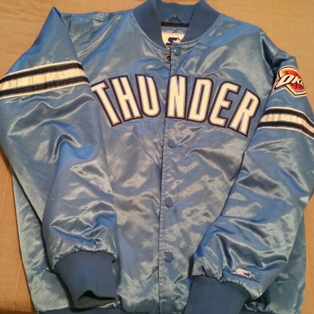 OKC Thunder Varsity Jacket