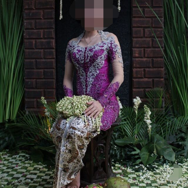 Reprice!!! (PRELOVED) Kebaya By Bryds Purple Size XS