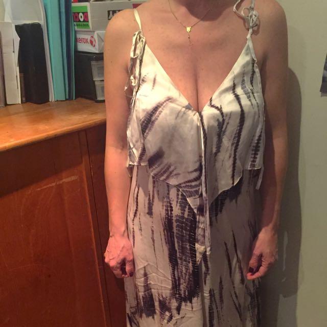 Satch Silk Formal Gown Size 8