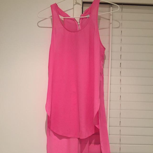 Sheer Pink Top