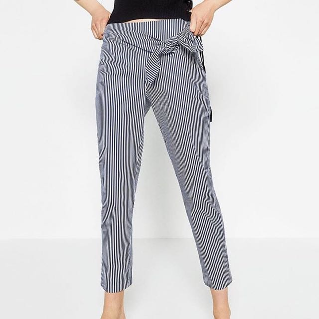 Stripey trousers - ZARALOOKseries
