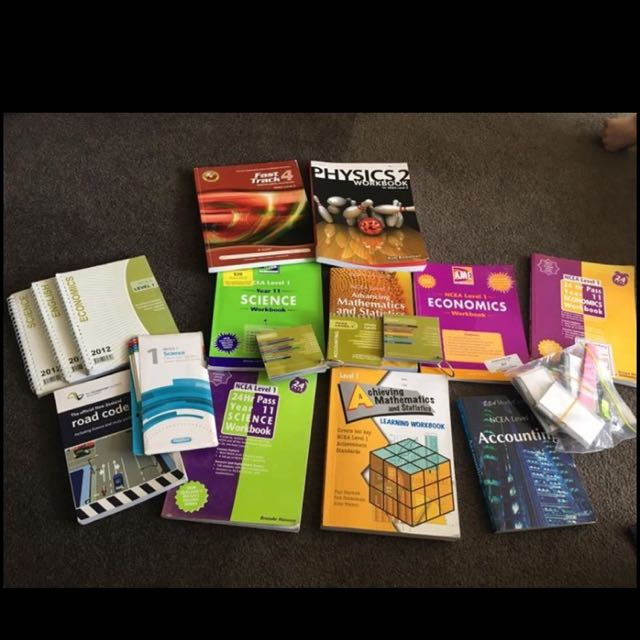 Study Books For Ncea Lebale 1 And 2