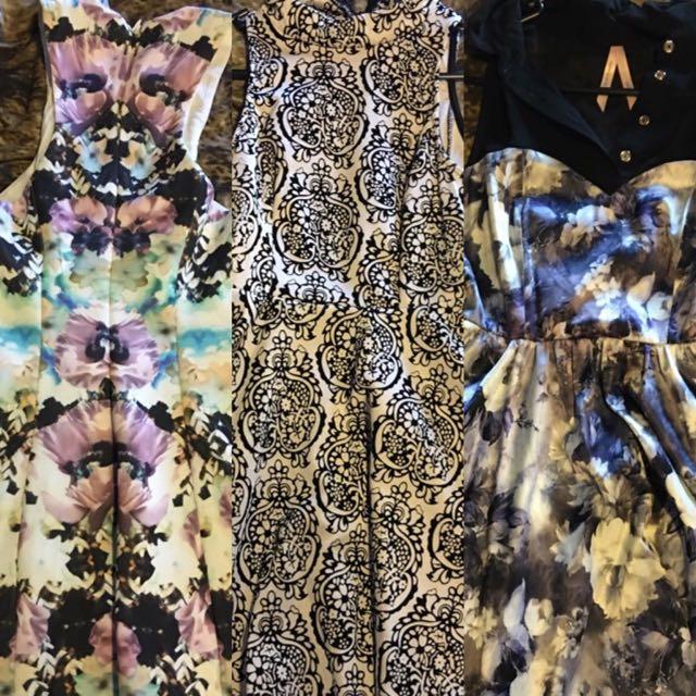 Three Beautiful Dress All Fits A 6