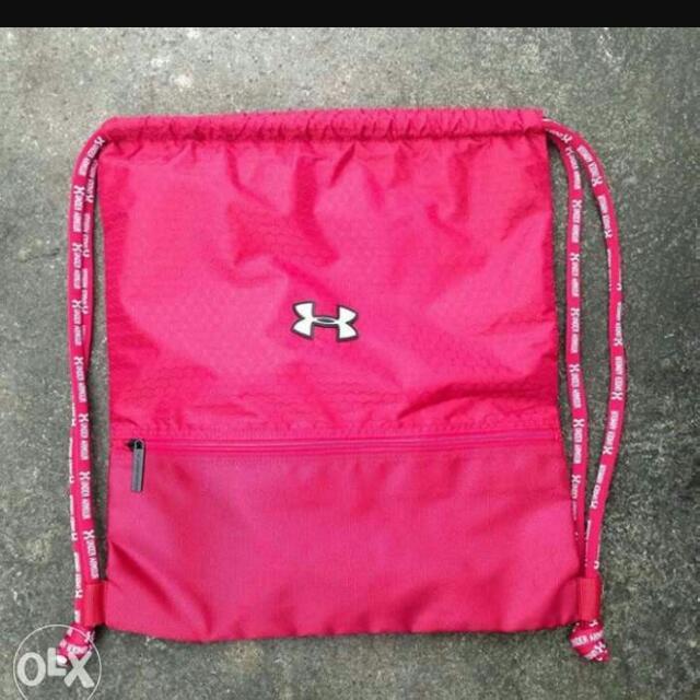 d308d7858c Under armour drawstring bag  Pink 🤗