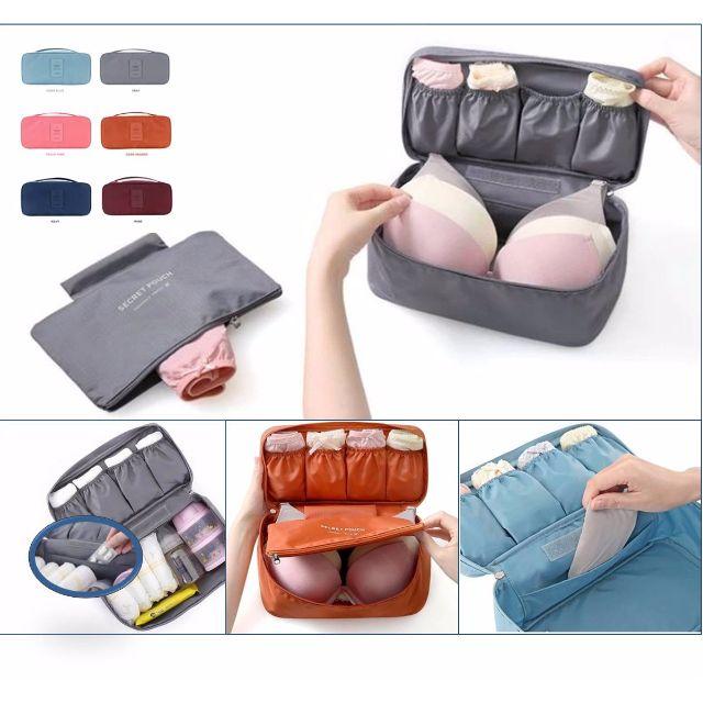 d98d83fb705e Underwear Pouch/Underclothes bags / Bra pouch /Bra protector/ Travel bags  /Suitcase Organizer/Travel Essentials/ Toiletries Pouch /smart pouch/Secret  ...