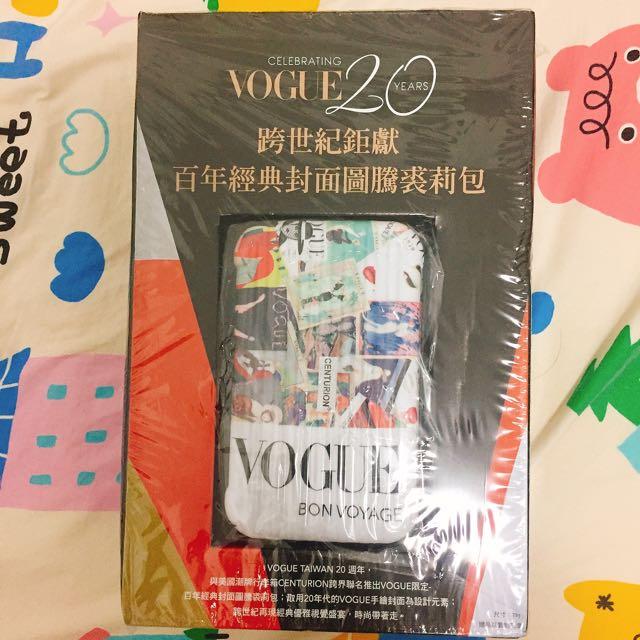 VogVogue 雜誌 裘莉包 2016 10月 centurion 過夜包 化妝包