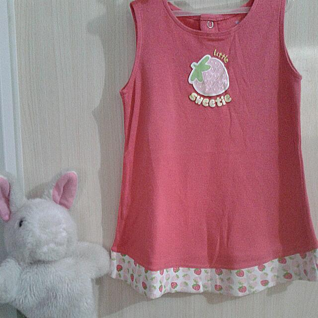 Wee Essentials Strawberry Dress