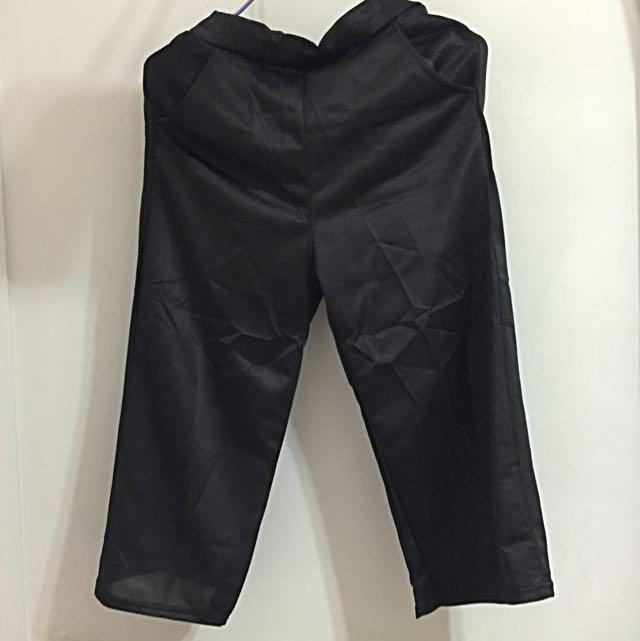Wide Black Pants
