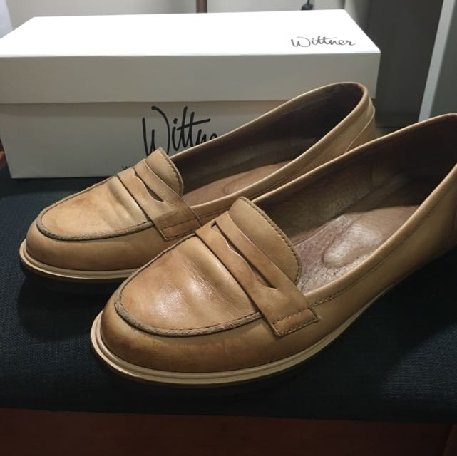 Wittner Leather Loafers Size 39