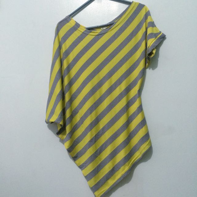Yellow Stripes Blouse