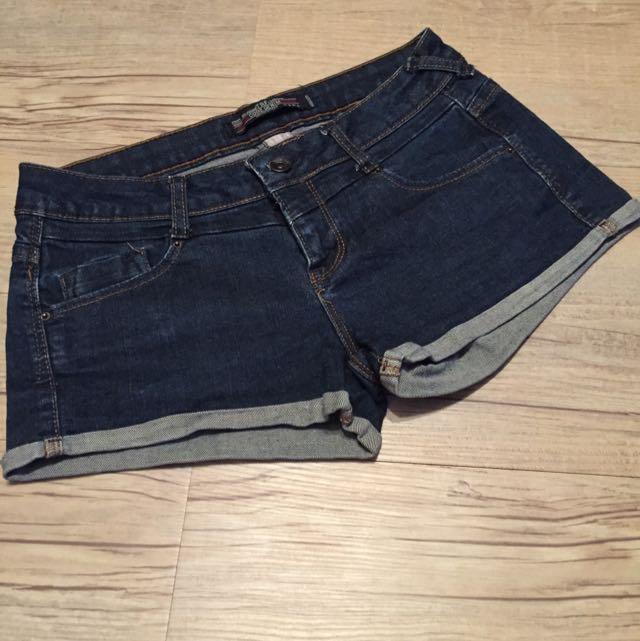 Zara Demin Shorts