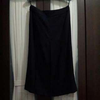 TheMe黑色6片裙