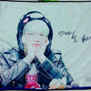 BTS 防彈少年團 閔玧其 SUGA 毛毯