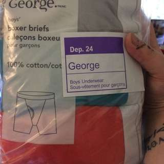 George Boys Boxer Briefs
