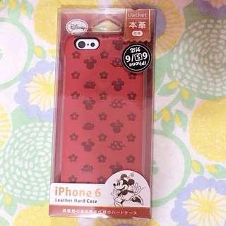 Disney米奇 米妮 I6、i6s 皮革手機殼