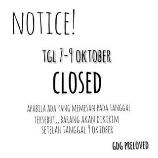 Notice! Notice!
