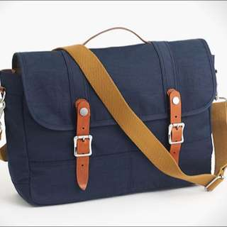 New J.Crew Harwick Messenger Bag