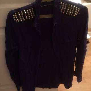 Bluenotes Blouse With Studs