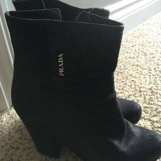 authentic prada boots