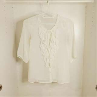 Old Navy Chiffon Blouse